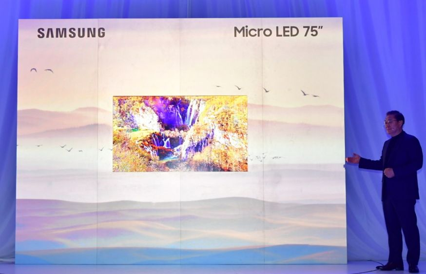 Samsung Micro Led first look op CES 2019