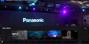 Panasonic innovaties op CES Las Vegas 2020